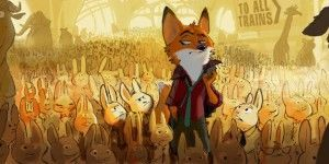 Original concept art for Zootopia. Image Credit: Disney