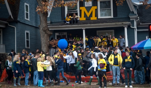 Image result for umich party