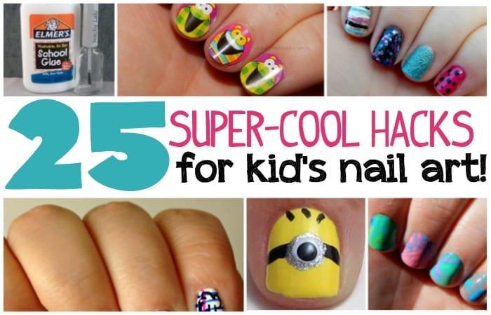 25 Kids Nail Art S