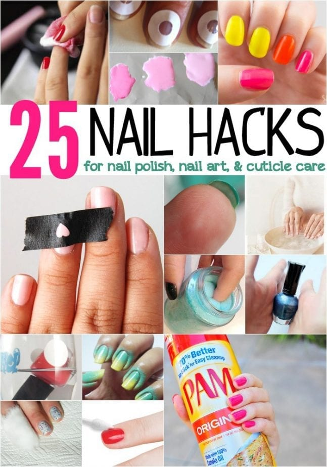 25 Nail S For Polish Art And Cuticle Care