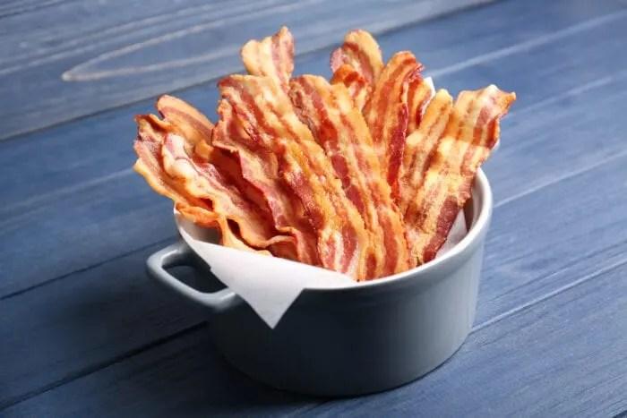 bacon rack that cooks crispy bacon