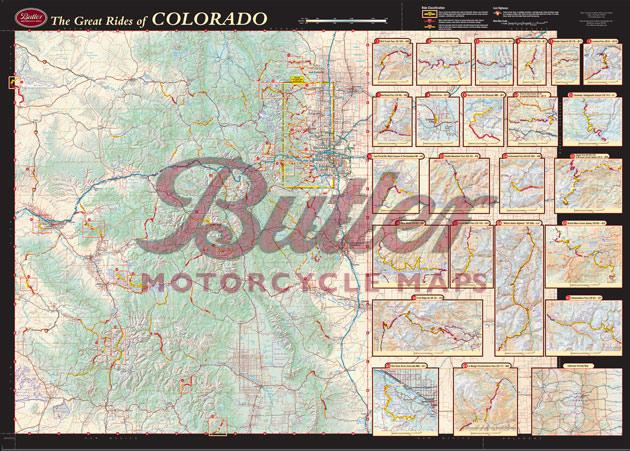 Butler Motorcycle Maps   Colorado Sample Route map cosample jpg