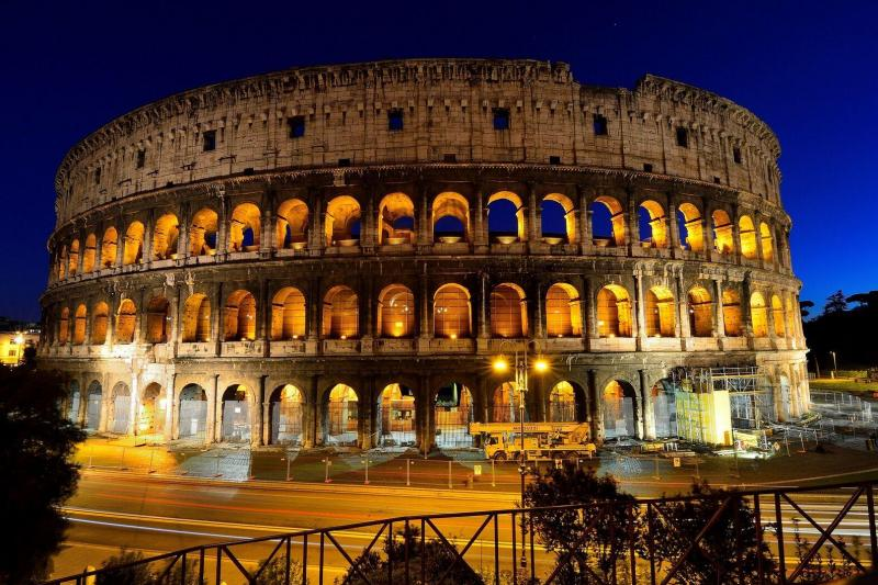 Rome By Night Tour With Dinner Rome Italy Gray Line