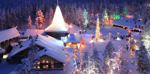 Image result for SANTA CLAUS VILLAGE, FINLAND