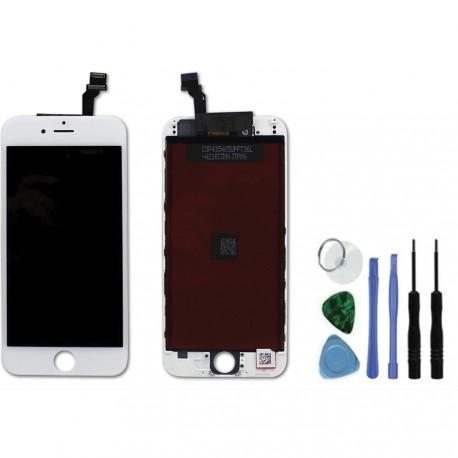 vitre ecran de remplacement iphone 6 blanc