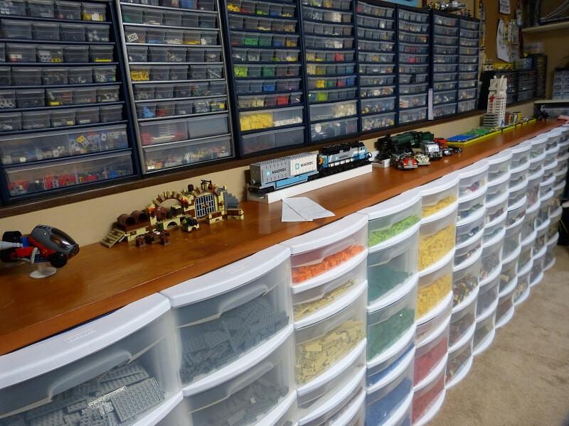 trier et de ranger votre lego