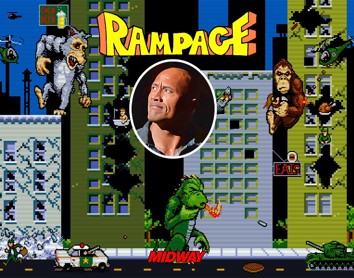 Dwayne Johnsons Video Game Adaptation Rampage To Be Emotional And Scary