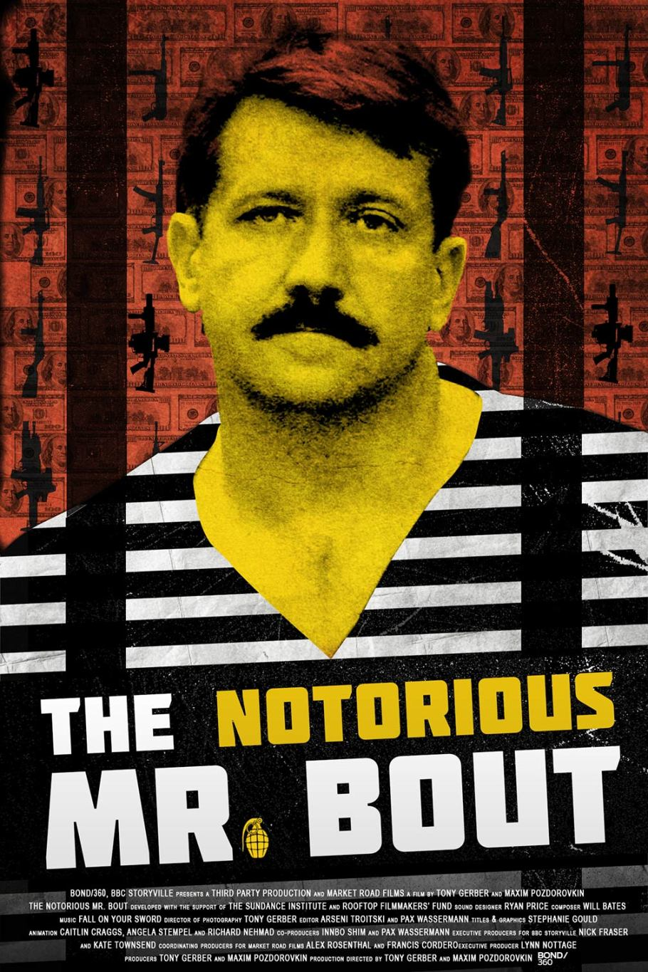 The Notorious Mr. Bout (2015) Poster #2 - Trailer Addict