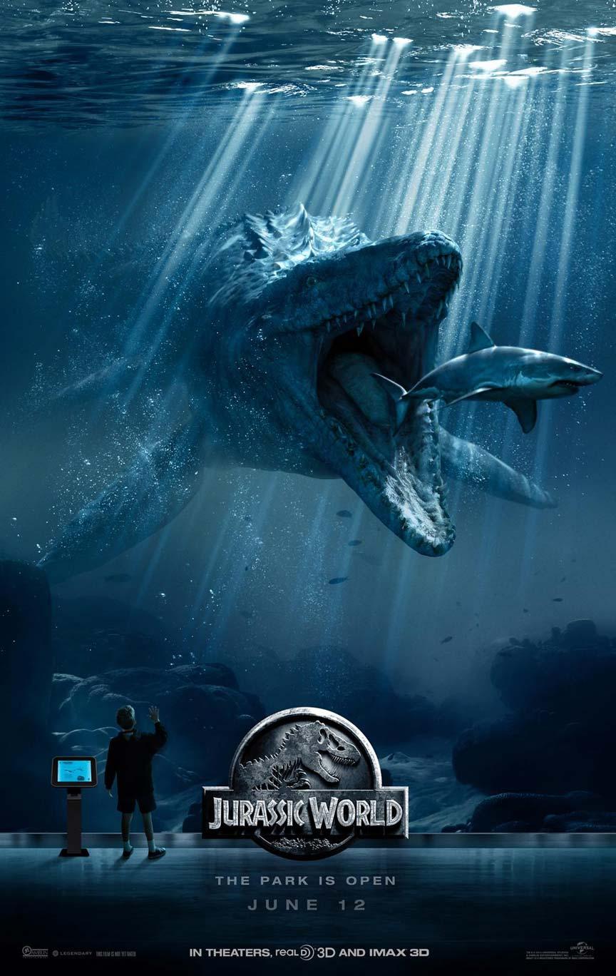 Jurassic World 2015 Posters TrailerAddict