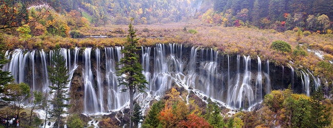 Cataráta de Jiuzhaigou, Nanping (China)