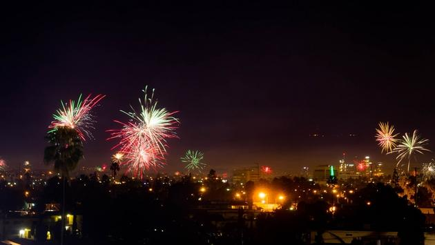 The Hottest Destinations for New Year s Eve   TravelPulse New Year fireworks in Los Angeles