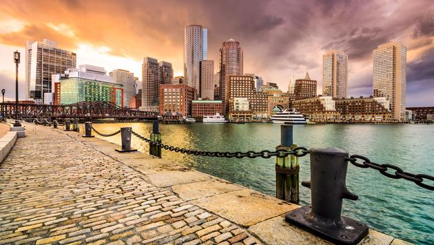Boston, Massachusetts, USA Skyline at Fan Pier. (photo via SeanPavonePhoto / iStock / Getty Images Plus)