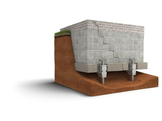 A 3D graphic of the Push Piersystem.