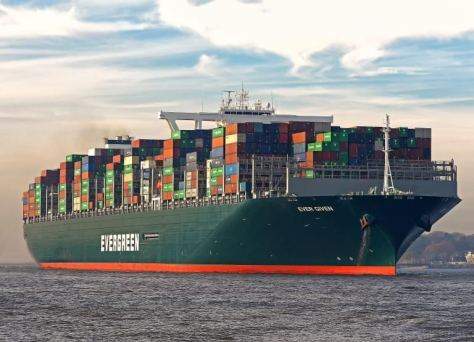 Ever Given container ship leaves Egyptian waters