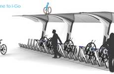 Hi-Tech Borrowed Bicycles