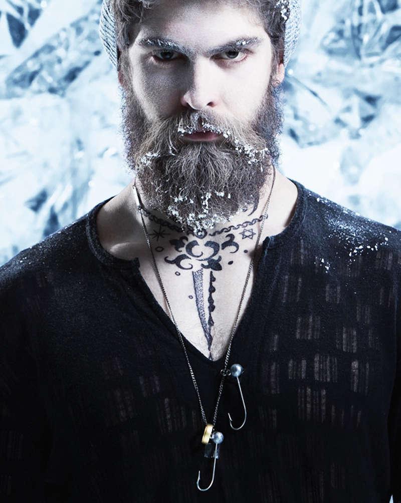 25 Bearded Fashion Spreads