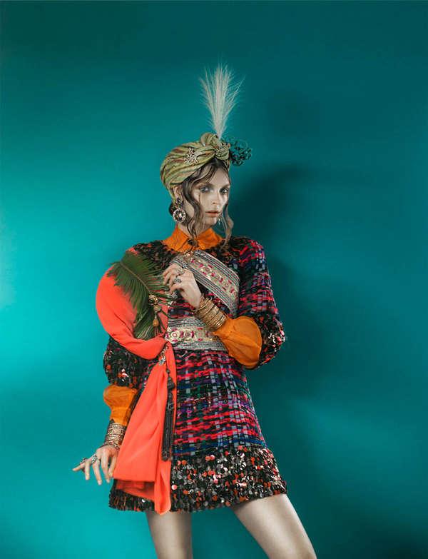 Gertrud Hegelund för franska Revue De Modes
