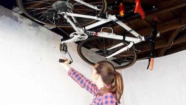 space saving bike racks ceiling bike rack