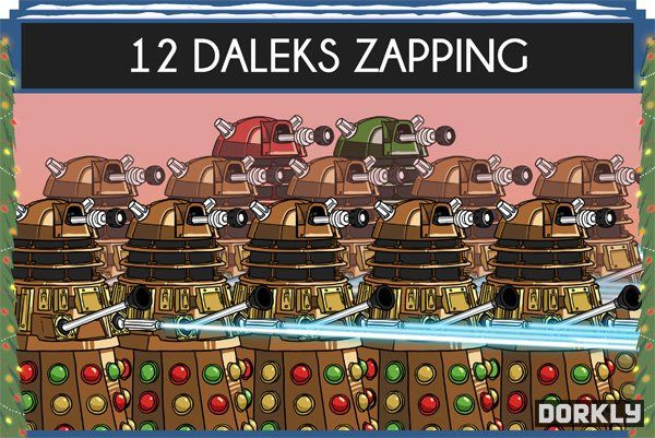 Sci Fi Christmas Carols 12 Days Of Doctor Who