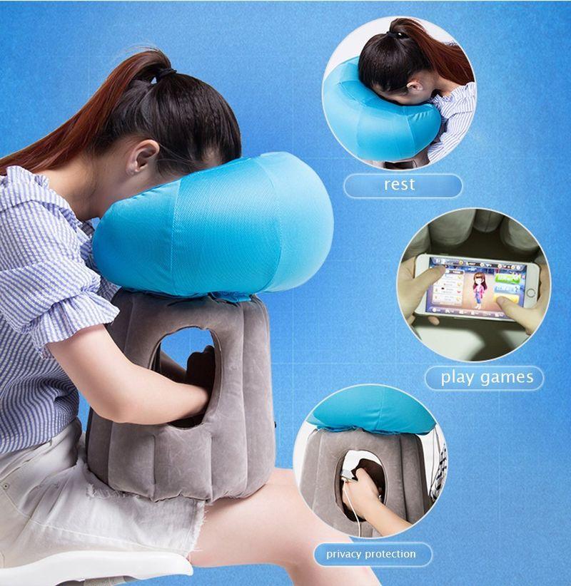 tech centric travel pillows air pillow