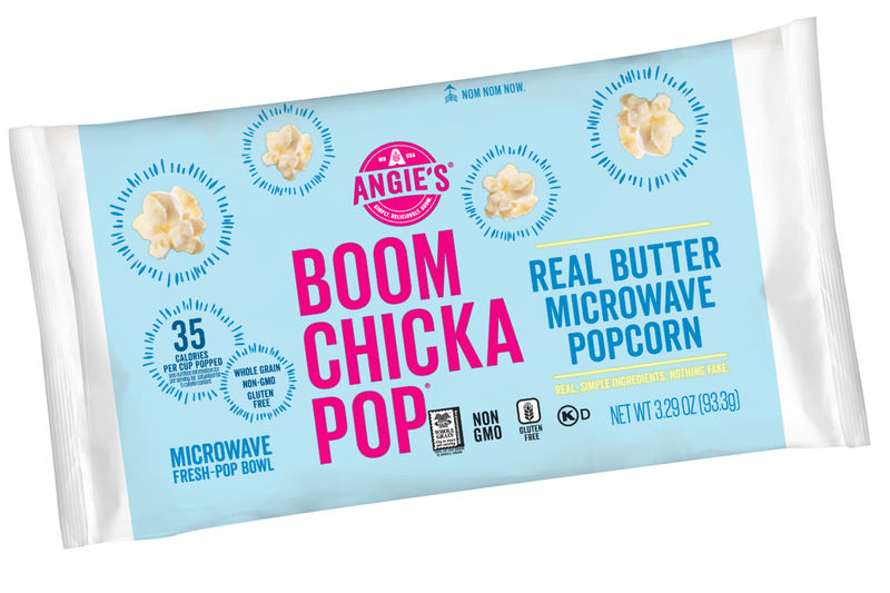 whole grain microwave popcorn angie s