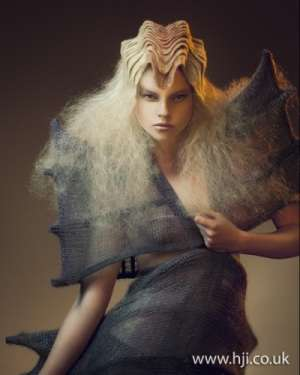 Horn Like Hairdos Avant Garde Hairdresser Of The Year