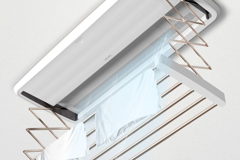 ceiling mounted drying racks clothing