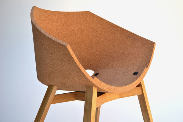 Comfortable Corked Seating : Cork Material