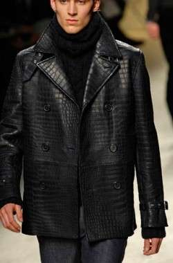 Crocodile Coats The Herms 150000 Peacoat