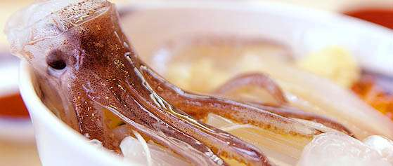squid for breakfast | via Shiki Book Japan