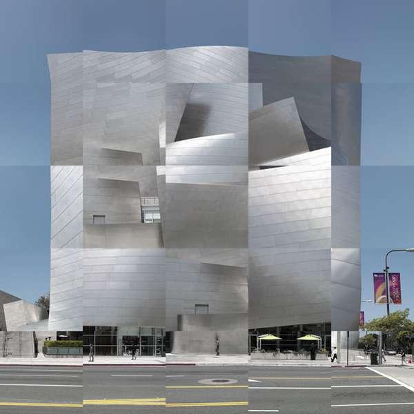 Distorted Architectural Art Gabor Ekecs Digitally Alters