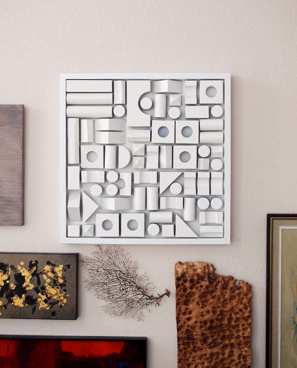 DIY Foam Fitting Wall Decor   Foam Wall Art DIY Foam Fitting Wall Decor