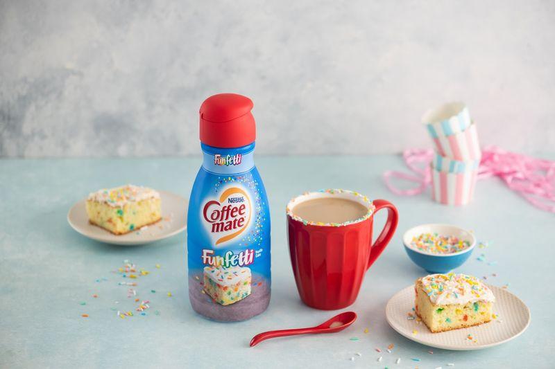 Birthday Cake Coffee Creamers Funfetti Creamer
