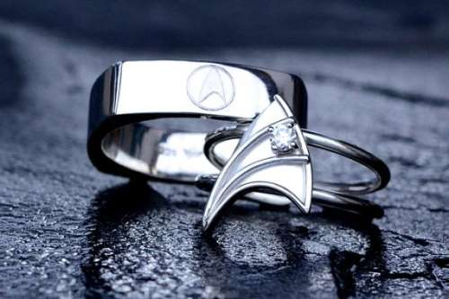 Geeky Nuptial Bands Geek Wedding Rings
