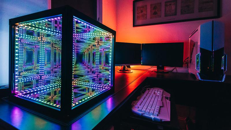 hi tech art cubes hi tech art