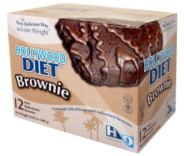 Meal Replacement Brownies