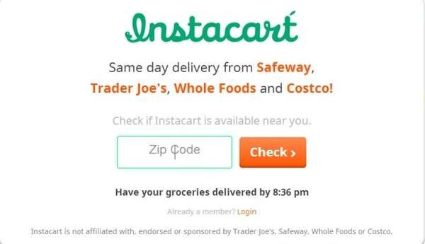 Buy Groceries Online Pickup Store