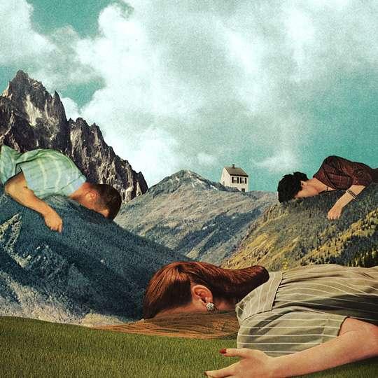 Retro Geometric Surrealist Images Julien Pacaud