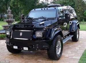 Bulletproof Luxury Vehicles : The Knight XV