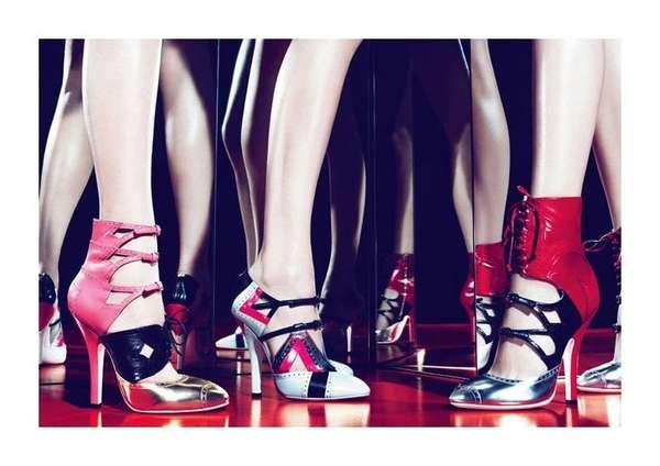 Miu Miu ss 2011 shoe ad campaign
