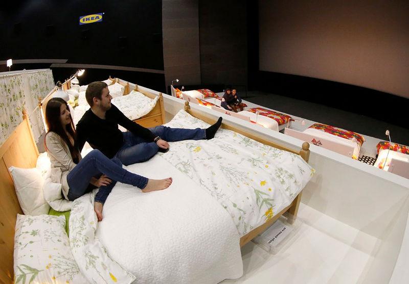 Comfort Focused Cinemas Movie In Bed