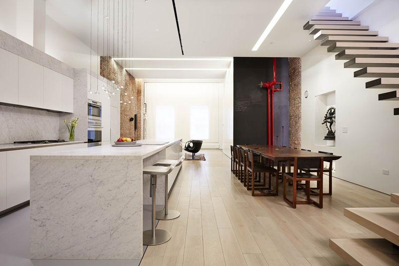Minimalist Loft Abodes Penthouse Renovation