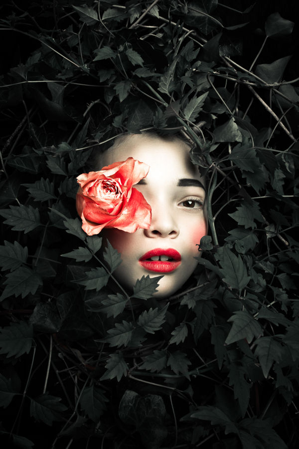 Myth Inspired Child Portraits Persephone By Max Eremine