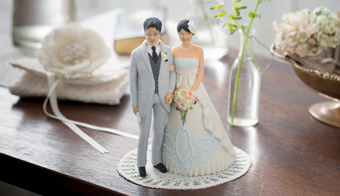 Personalized Wedding Figurines Personalized Wedding Topper