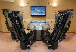 Ejection Seat Bars: Phantom Werks Uses Fighter Jet Seats