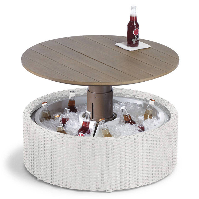 beer cooler coffee tables pop up ottoman