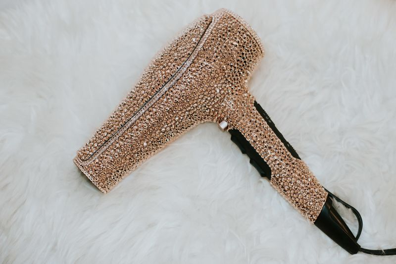 Crystal Encrusted Hairdryers Prte