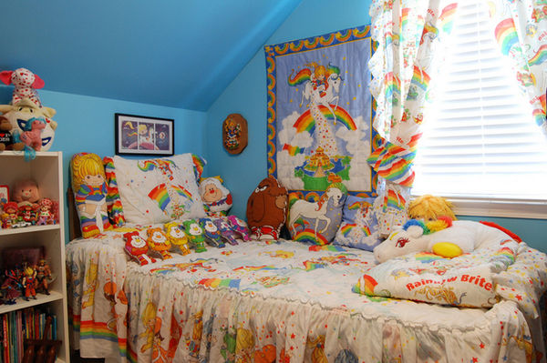 Nostalgic 80s Rainbow Rooms : Rainbow Brite House