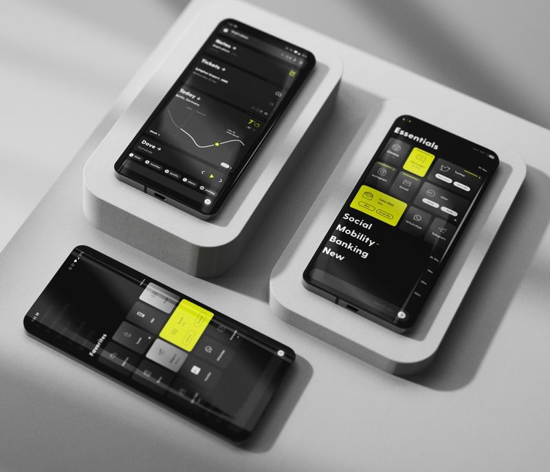 Smartphone-Simplifying Apps : Ratio by Blloc