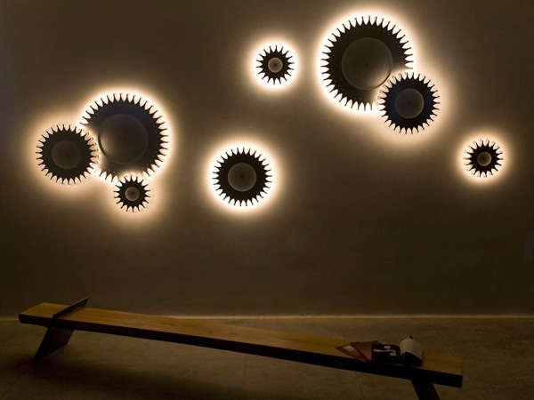 Gear Shaped Lamps Schproket Light